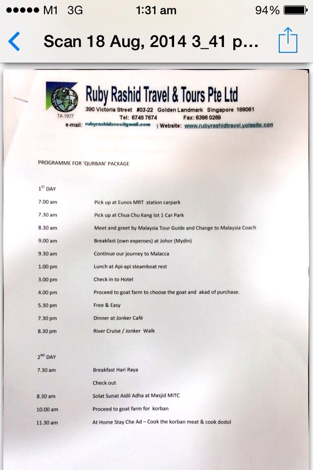 Ruby Rashid Travel & Tours | Renowned Blogger in Singapore
